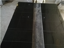 Absolute Black Granite Tiles, Slabs