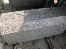 China G603 Grey Granite Exterior Walkway Kerbstone