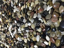 Mix Color Polished Pebble Stone, Colorful Pebbles