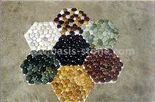 Multicolor Pebble Stone