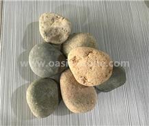 Natural Pebble Stone ,Mixed River Pebbles