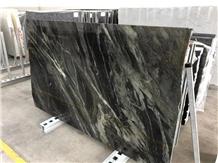 Galaxy Green Granite Slabs