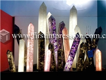 Colorful Gemstone Semiprecious Agate Slabs ,Tiles