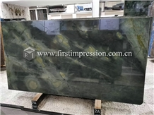 Famous Dreaming Peacock Green Marble Slabs,Tiles