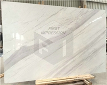 High Quality Greece Volakas White Marble Slab,Tile