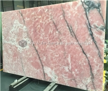 High Quality Pink Onyx Slabs,Tiles for Decoration