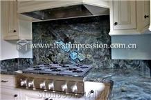 Lemurian Labradorite Blue Granite for Countertops