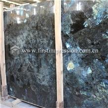 Lemurian Labradorite Blue Granite Tiles,Slabs
