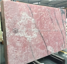 New Polished Pink Onyx Slabs,Tiles for Flooring