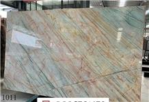 Aurora Borealis Quartzite Slab in China Market