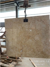 Turkey Feather Gold Marble Slab Wall Floor Tiles