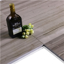 Athens Grey Wood Grain Marble Flooring Wall Tiles