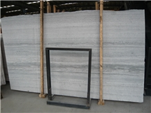 Blue Wooden Vein Marble Slab, China Blue Marble
