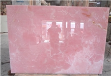 Extra Quality Light Pink Onyx Slabs
