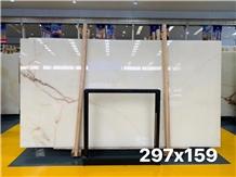 Extra Quality Natural White Snow Onyx Slabs Tiles