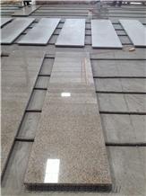 Golden Yellow Shandong Rust Granite Apartment Tops