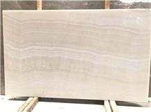 Natural High End Agri White Ivory Onyx Slabs Tiles