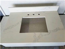 Similar to 5031 Statuario Maximus Quartz Bath Tops