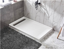 White Smc Shower Trays Pans for Hotel Baths