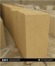 Yellow Sandstone Honed Finish Pakistani Sandstone