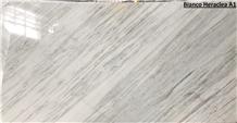 Heraclea White A1 Slabs, Heraclea White Marble Slabs