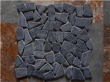 Grey Pebble Chipped Mosaic