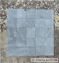 Sanded Grey Marble Pool Tile