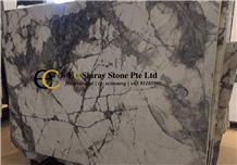 Brazil Invisible Blue Grey Marble Slabs & Tiles