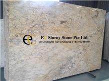 Brazil Mascarello Gold Granite Slabs & Tiles