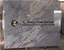 Brazil Monet Grey Quartzite Slabs & Tiles