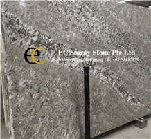 Brazil Vintage Grey Granite Slabs & Tiles