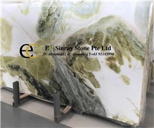 China Athens Jade Green Marble Slabs & Tiles