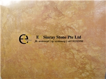 China Golden Emperador Yellow Marble Slabs Tiles