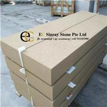 China Yunnan Beige Sandstone Slabs & Tiles