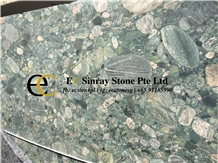 Egypt Fawaqir Green Breccia Marble Slabs & Tiles