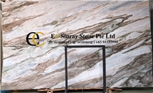 Mramorskoye Fantasy Grey Brown Marble Slabs Tiles