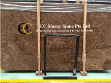 Spain Portoro San Marino Brown Marble Slabs Tiles