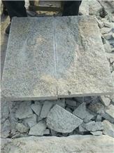 G682 Rusty Yellow Granite Paving Stone and Pavement Tiles