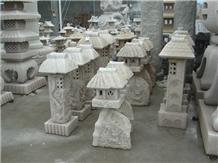 Hand Carved Granite Stone Lantern for Sales