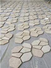 Yellow Natural Granite G682 Paving Stone
