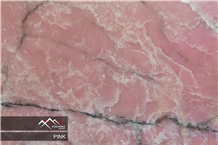 Pink Onyx Slab, Tile
