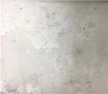 Cement Ash Silver Quartz Stone