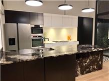 Exotic Granite Kitchen Countertop, Island Top