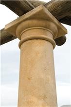 Pietra Carparo Rustico Ionic Style Column