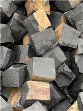 Basalt Cobblestone, Pavingstone, Sett, Basalt Cube