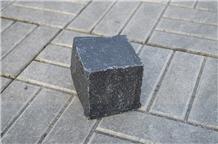 Black Basalt Paving Stones , Cobble Stones