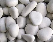 Dolomite Marble Pebble, White Pebble, White Gravel