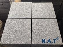 Sl White Granite, Flamed- Vietnam White Granite