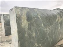 Golden Lightning Granite, Golden Moss Granite, Verde Karzai Granite Blocks