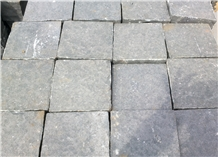 Dark Grey Basalt Landscaping Stones, Pavers, Cobble Stone, Cube Stone for Roads